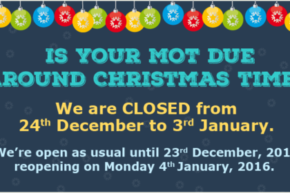 Christmas holiday closing