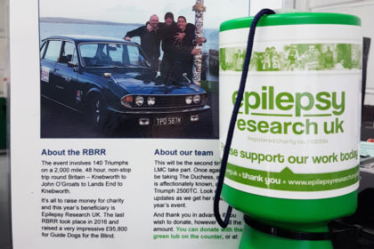 Collection for Epilepsy UK